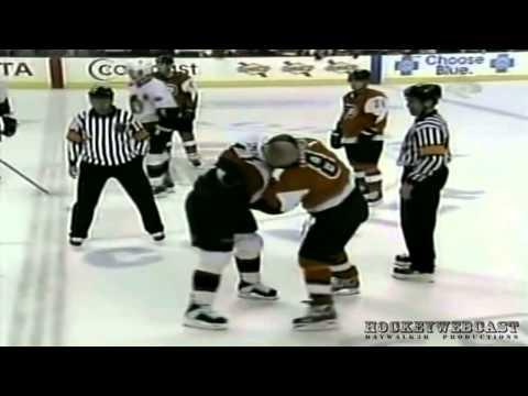 Philadelphia Flyers vs Ottawa Senators. Brawl 2004. NHL Classic.HD