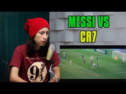 [QUEM É MELHOR?] REACT Cristiano Ronaldo vs Lionel Messi ● Masterpiece 2015/2016 #2334