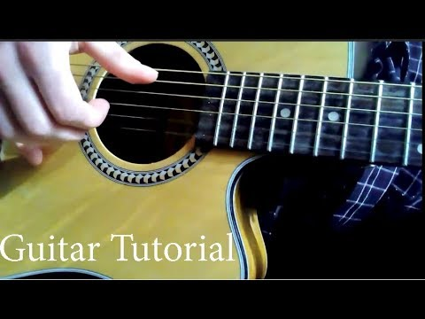 Asylums For The Feeling  Silent Poets guitar lesson