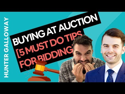 Buying At Auction [5 Must DO Tips For Bidding In 2020]