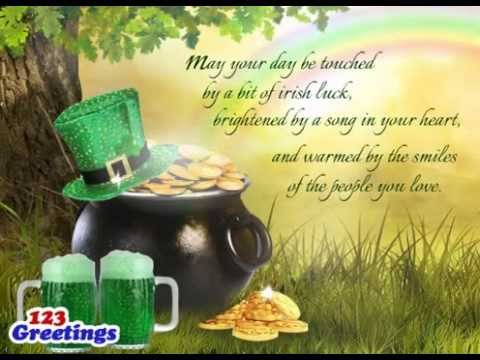 St patricks day greetings youtube st patricks day greetings m4hsunfo