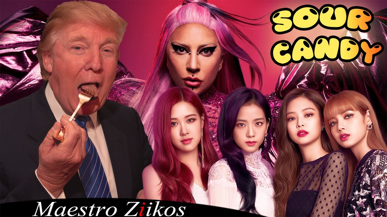 Lady Gaga, BLACKPINK - Sour Candy (Donald Trump Cover)
