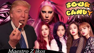 Cover images Lady Gaga, BLACKPINK - Sour Candy (Donald Trump Cover)