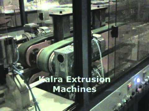 HPMC CONICAL TWIN SCREW EXTRUDER VIDEO FOR PVC PIPE
