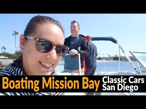 Motorhome RV Living | Mission Bay By Boat | Classic Cars San Diego