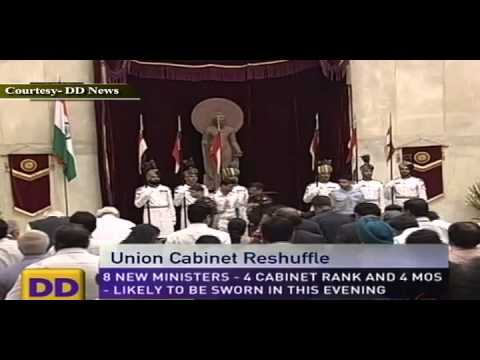 Union Cabinet Reshuffle on 17 june 2013