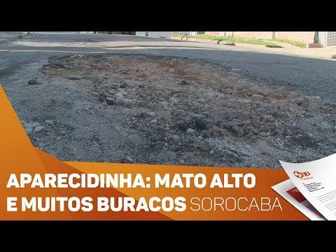 Aparecidinha: Moradores reclamam de problemas  - TV SOROCABA/SBT