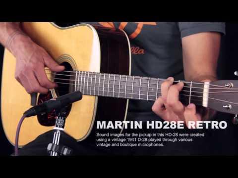 Martin HD28e Retro Fishman F1 Aura Review - We Compare Mic, Pickup, And 3 Easy Mode Settings
