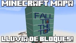 Minecraft MAPA LLUVIA DE BLOQUES!