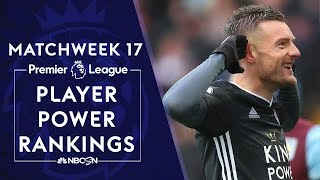 Unstoppable Jamie Vardy tops Premier League player power rankings | NBC Sports Video