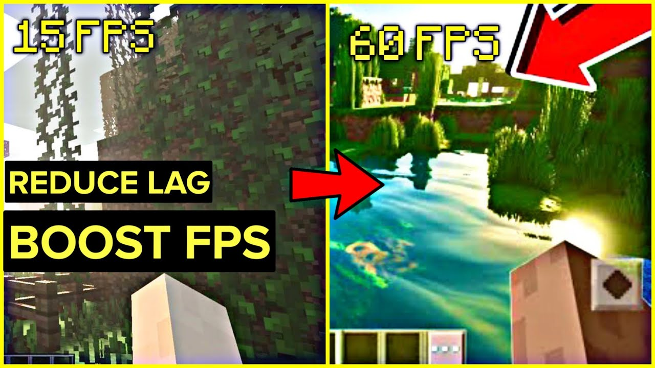 How To Reduce Lag In Minecraft Pe ? Boost Fps In Minecraft Pe ! FPS Booster For Minecraft pe !
