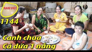 Bữa cơm cùng Út 15 - Canh Chua Cá dứa 1 nắng - Nam Việt 1144