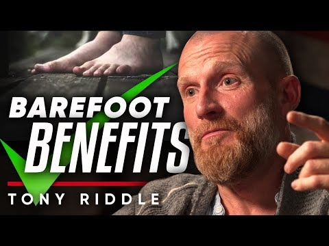 TONY RIDDLE BAREFOOT BENEFITS Why Barefoot Running Is Good For You | London Real