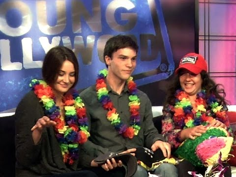 The Descendants Kids  Shailene Woodley, Nick Krause, and Amara Miller