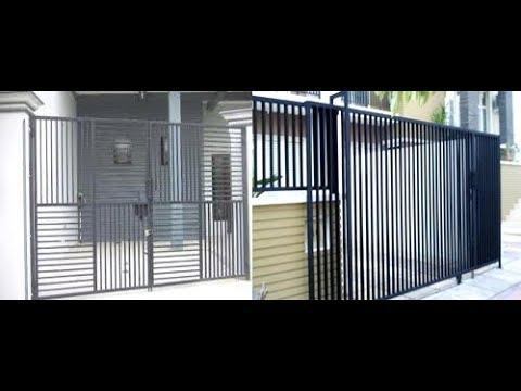 Memilih Desain Pagar Minimalis Teralis Jendela Dan Pintu Garasi Rumah