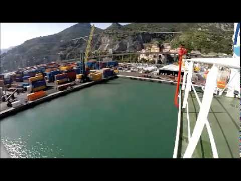 How a ship berth to: Salerno (Amalfi)
