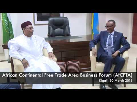 African Continental Free Trade Area Business Forum (AfCFTA)