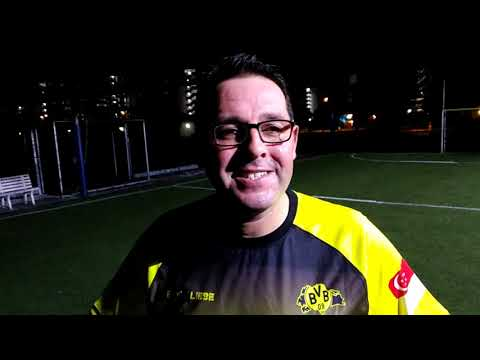 Post Match Interview With BVB Borussia Dortmund Fans of Singapore's Eddy Henning