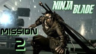 Ninja blade playthrough french from software xbox 360 pc 2009 HD Mission 2