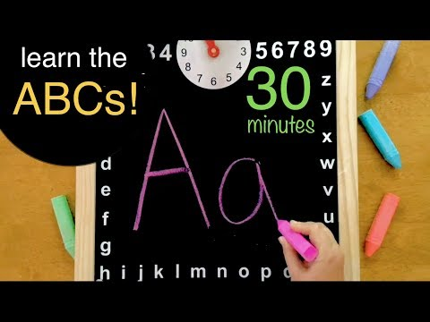 Fun ABC Song Video - Learning Alphabet Cartoon Interactive Singing for Baby Toddlers Children