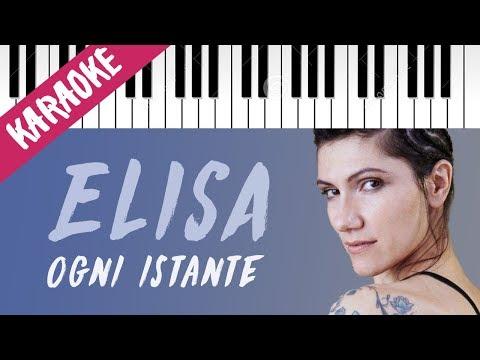 Elisa | Ogni Istante // Piano Karaoke con Testo