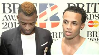 JLS talk about Marvin