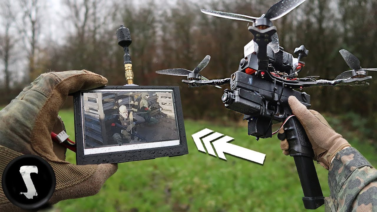 Assault Drone With Full Auto Glock G18c Scares The H T Out Of People Youtube