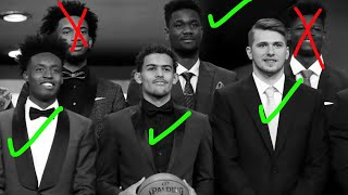 The 2018 NBA Draft... 3 Years Later.