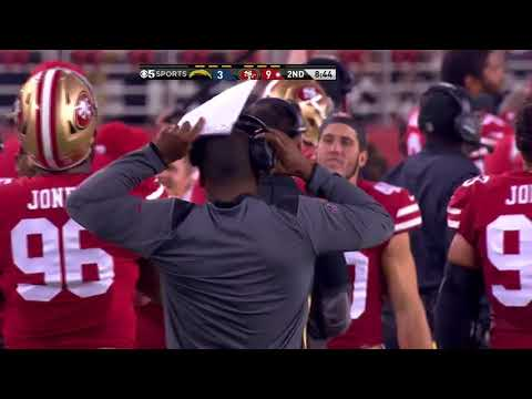 C.J. Beathard Jukes The Entire Chargers Defenses For An 62 Yard TD Run