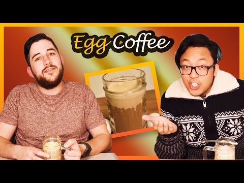 People Try Vietnamese Egg Coffee - Yay Or Nay