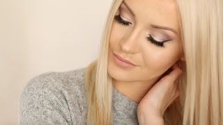 Soft purple eyes | GRWM  | PatrycjaPage