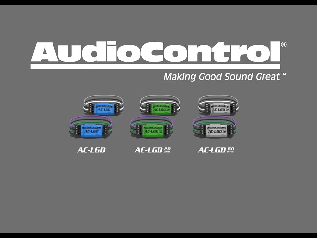 AudioControl LGDs explained