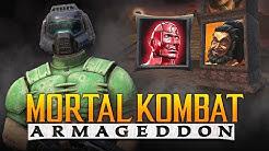 "DOOM SLAYER FOR KP2? - MK: Armageddon ""Kreate a Fighter"" Arcade Ladder Gameplay! (MK11 DLC Talk)"