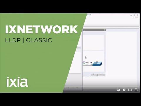 IxNetwork LLDP - Classic