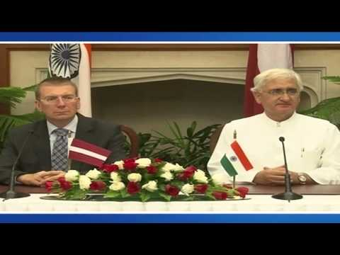 Visit of Minister of Foreign Affairs of the Republic of Latvia: Signing of Agreements (Sep 18, 2013)