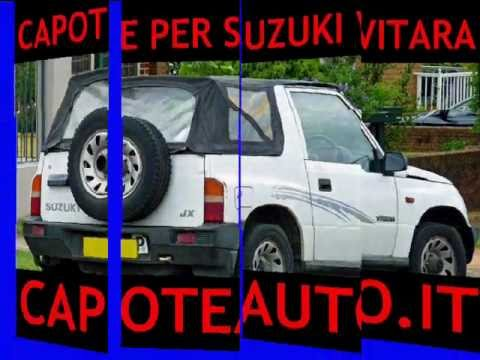 capote cappotta suzuki vitara auto mk1 mk2 jimny youtube. Black Bedroom Furniture Sets. Home Design Ideas