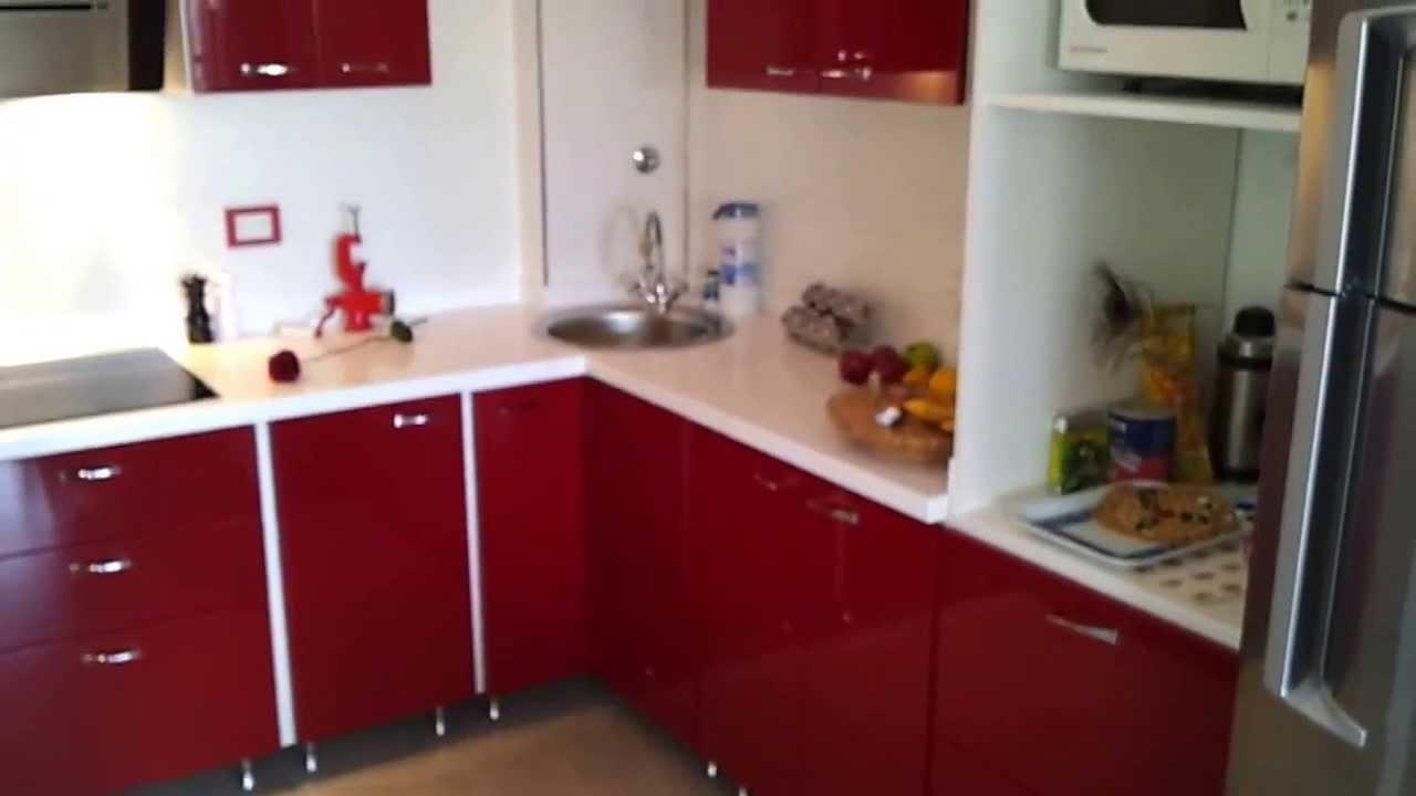 fabrica muebles de cocina laqueado bordo correderas con