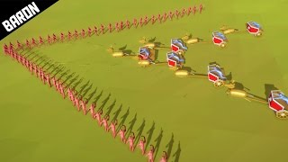 One of BaronVonLetsPlay's most viewed videos: UNSTOPPABLE V Archer Formation - Totally Accurate Battle Simulator