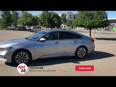2019 Honda Accord: LLumar CTX Ceramic Window Tints