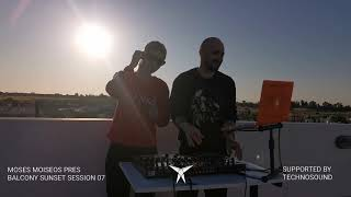 MOSES MOISEOS - BALCONY SUNSET SESSIONS 07
