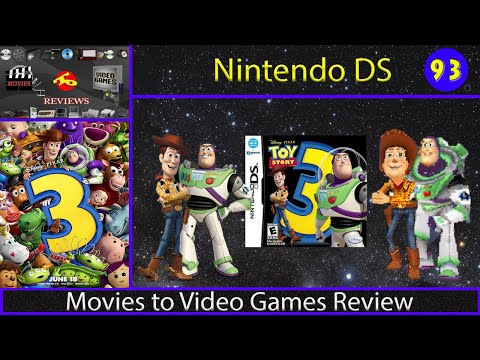 Movies to Video Games Review - Toy Story 3 (Nintendo DS)