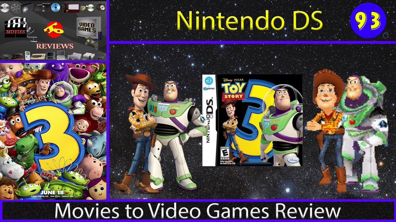 Movies To Video Games Review Toy Story 3 Nintendo Ds