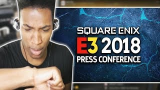 ETIKA REACTS TO SQUARE ENIX 2018 PRESS CONFERENCE | TIMESTAMPS | ETIKA STREAM HIGHLIGHT