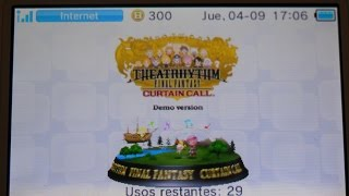 Vídeo Theatrhythm Final Fantasy: Curtain Call