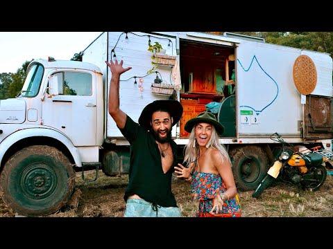 VAN TOUR   SOLO FEMALE TRAVELER lives VANLIFE with 7 STRANGERS