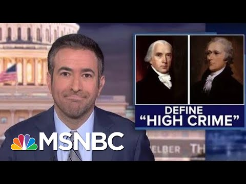 Why Trump's Ukraine Call Meets The Founders' Impeachment Standard | The Beat With Ari Melber | MSNBC