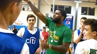 KYRIE IRVING Reacts to My Basketball Game