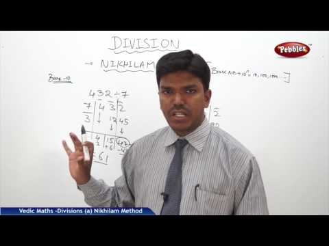 Nikhilam Method of Division | Speed Maths | Vedic Mathematics