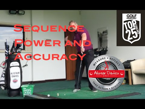 Golf Tip  Sequence  Power and Accuracy