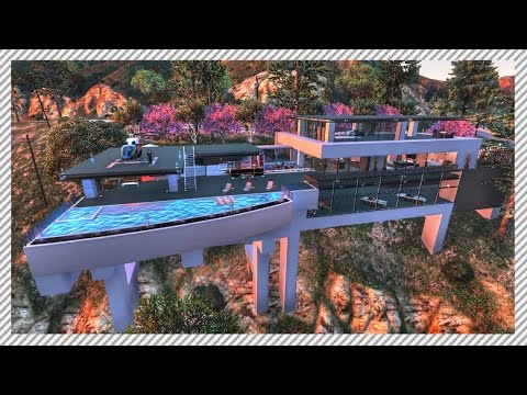 MASSIVE BEL AIR BILLIONAIRE MANSION
